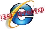 CSS3 approved for IE